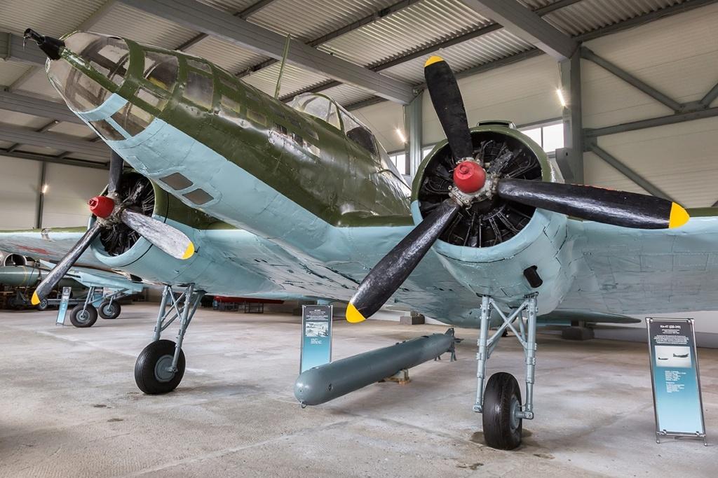 Musée de l'aviation de la flotte du Nord Il-4t10