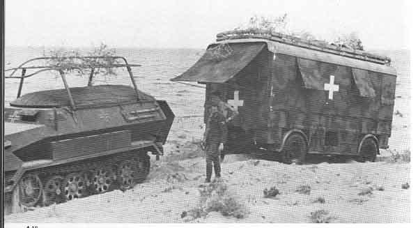 Les vehicules de Commandement de Rommel Lancia10