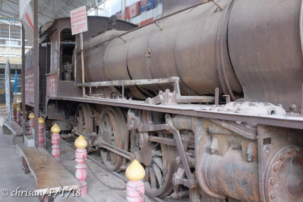 Le chemin de fer de la rivière Kwai au patrimoine mondial ? Loco_t10
