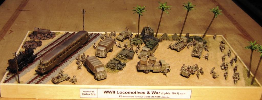 Diorama 10mm de Carlos Briz WWII - Page 3 Lybia10