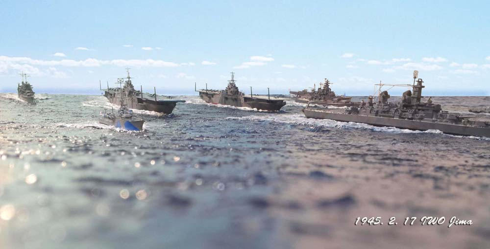Les dioramas de Won-hui Lee  Marine11