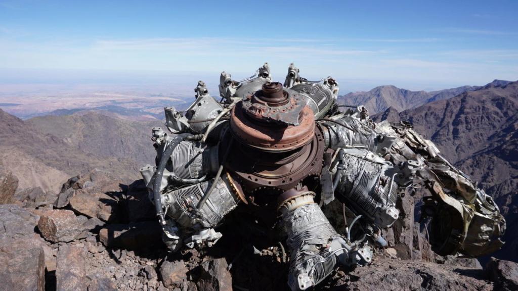 Zone de crash bombardiers et autres Maroc10