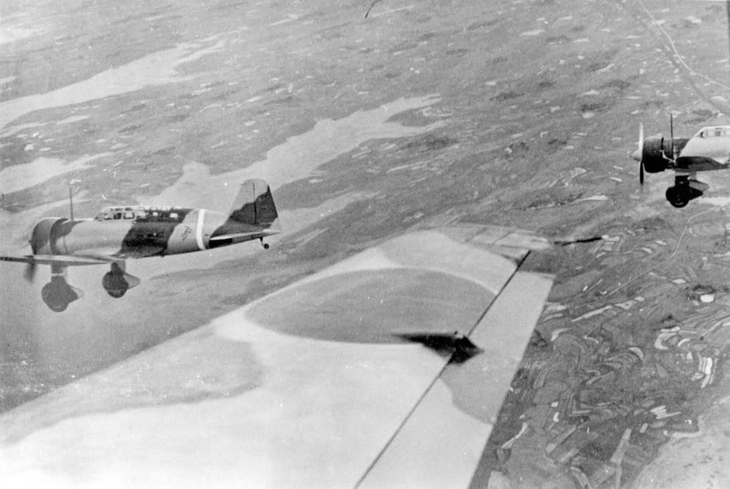 Kamikazes japonais sur blindes sovietiques Mitsub10
