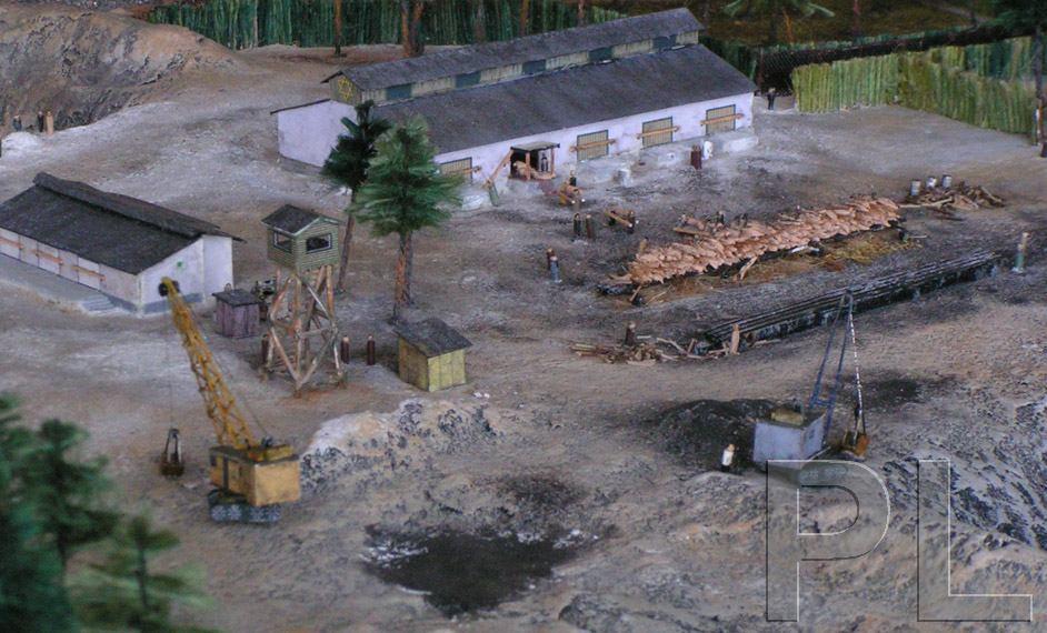 Camps d exterminations au 1/87 Model_10