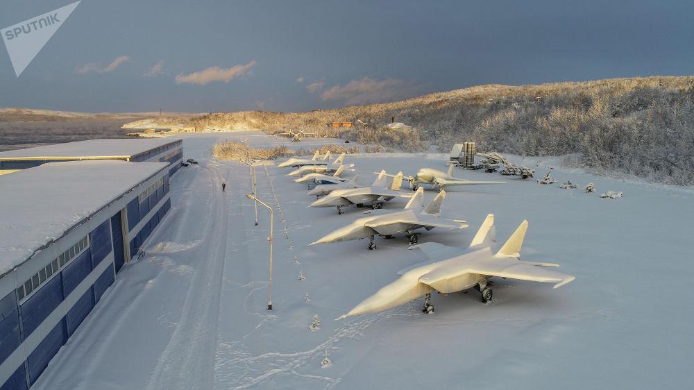 Musée de l'aviation de la flotte du Nord Muszoe10