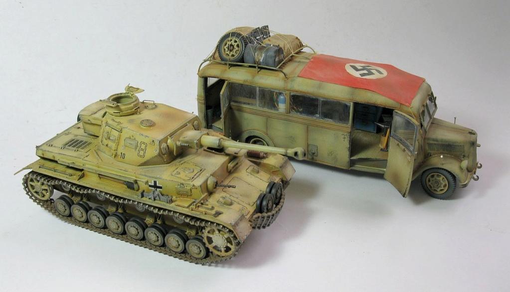 Les vehicules de Commandement de Rommel Opel_b11