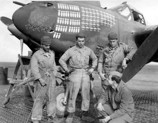 Victoires aeriennes - Page 2 P-38h10