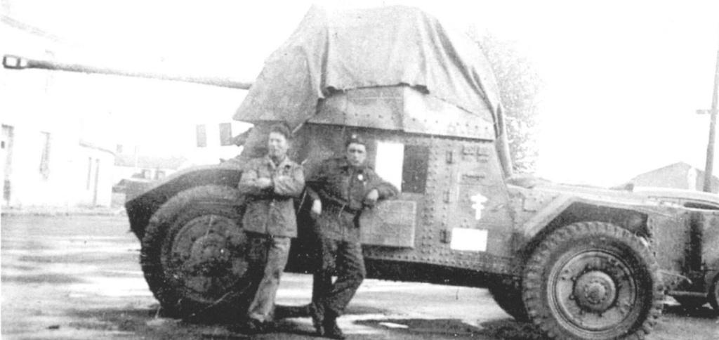 Vehicules recuperes par les FFI -1944 P178_m10