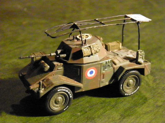 Vehicules recuperes par les FFI -1944 Panhar12