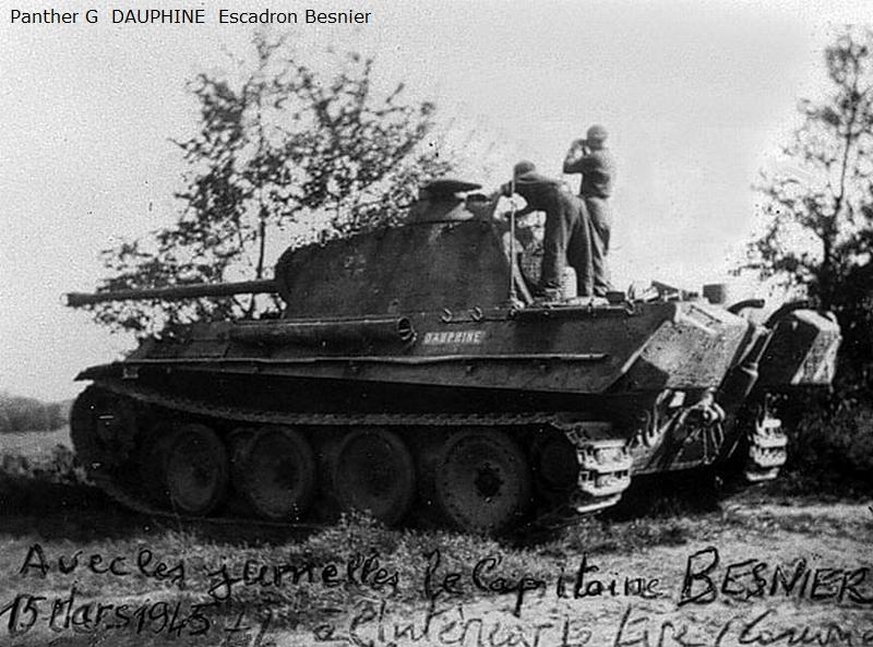 Vehicules recuperes par les FFI -1944 Panthe10