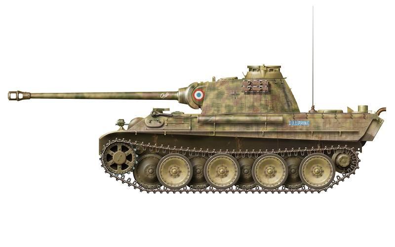 Vehicules recuperes par les FFI -1944 Panthe42