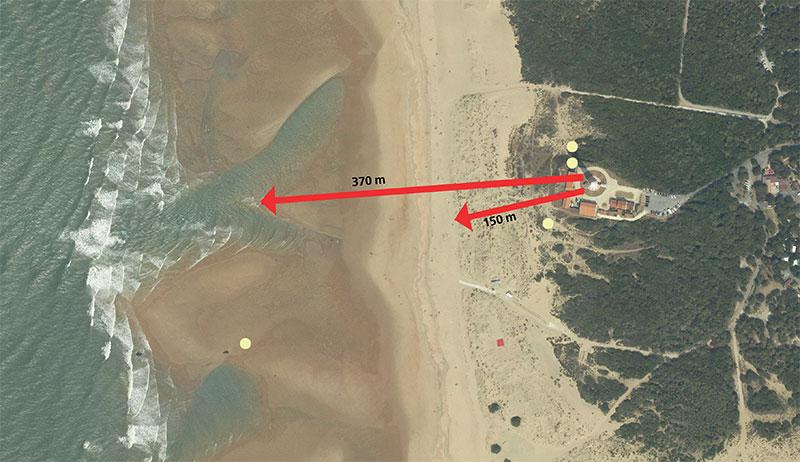 Erosion des plages Phare212