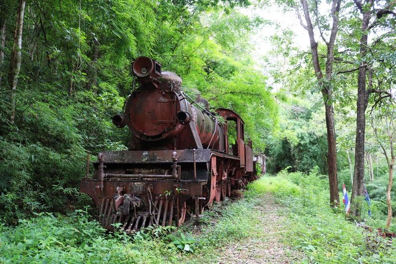 Le chemin de fer de la rivière Kwai au patrimoine mondial ? Phu_to10