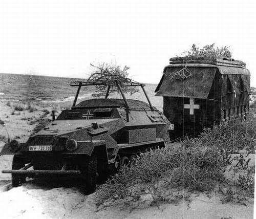 Les vehicules de Commandement de Rommel Rommel13