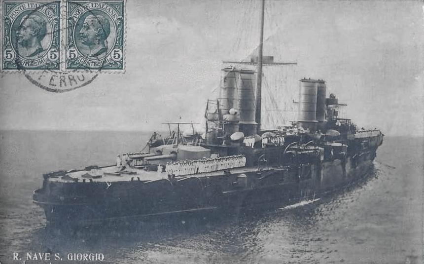Croiseur italien San Giorgio San-gi11