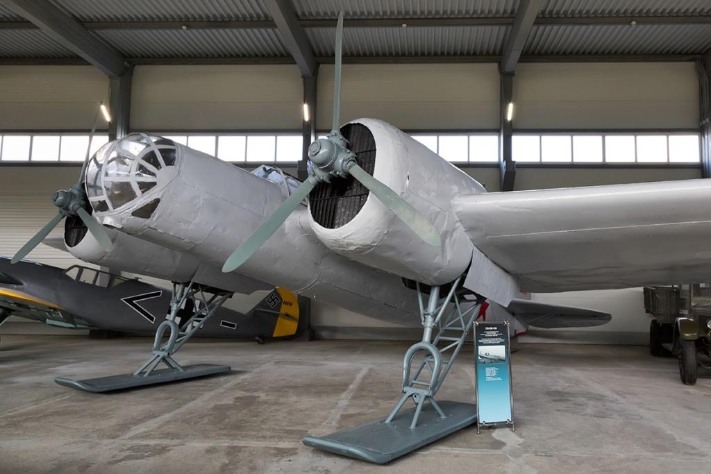 Musée de l'aviation de la flotte du Nord Sb-2m10