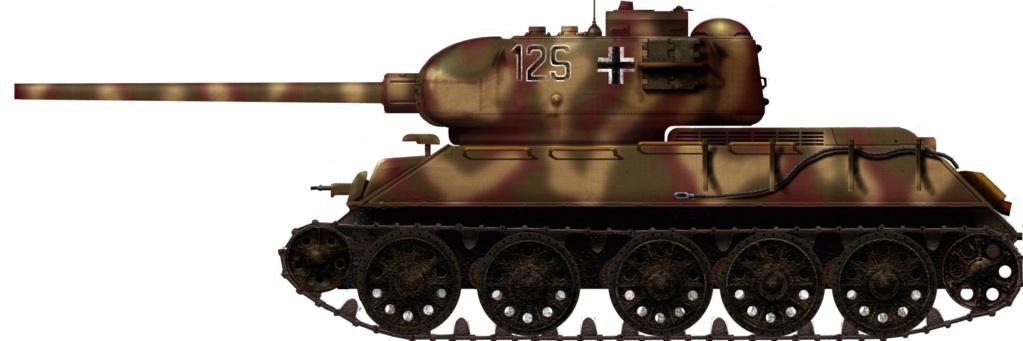 Le T34-85 Beute a canon 8.8cm allemand  (2012) T34-8510