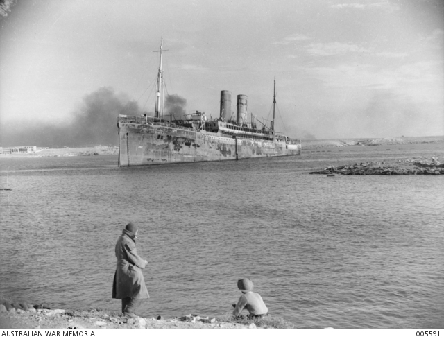 Croiseur italien San Giorgio Tobruk22
