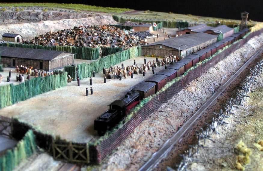 Camps d exterminations au 1/87 Trblin10