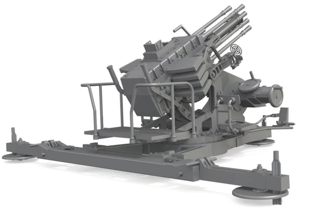 "Prototype ""Salvenmaschinenkanone 18"" (SMK 18) Type_211"