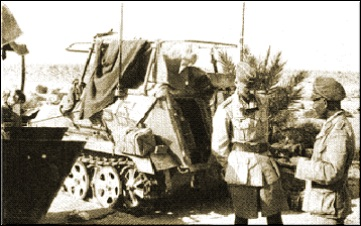 Les vehicules de Commandement de Rommel Z1103