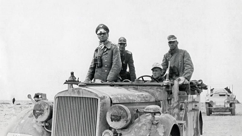 Les vehicules de Commandement de Rommel Z1104