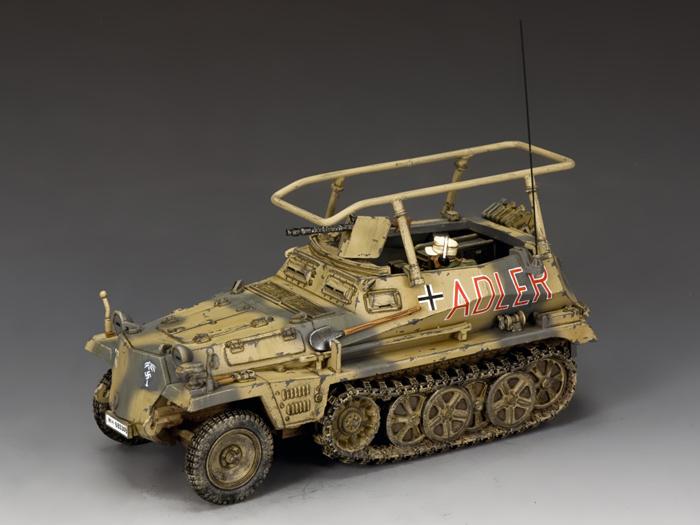 Les vehicules de Commandement de Rommel Z244