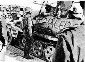Les vehicules de Commandement de Rommel Z245