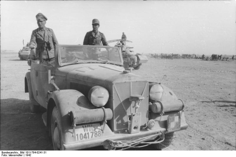 Les vehicules de Commandement de Rommel Z249