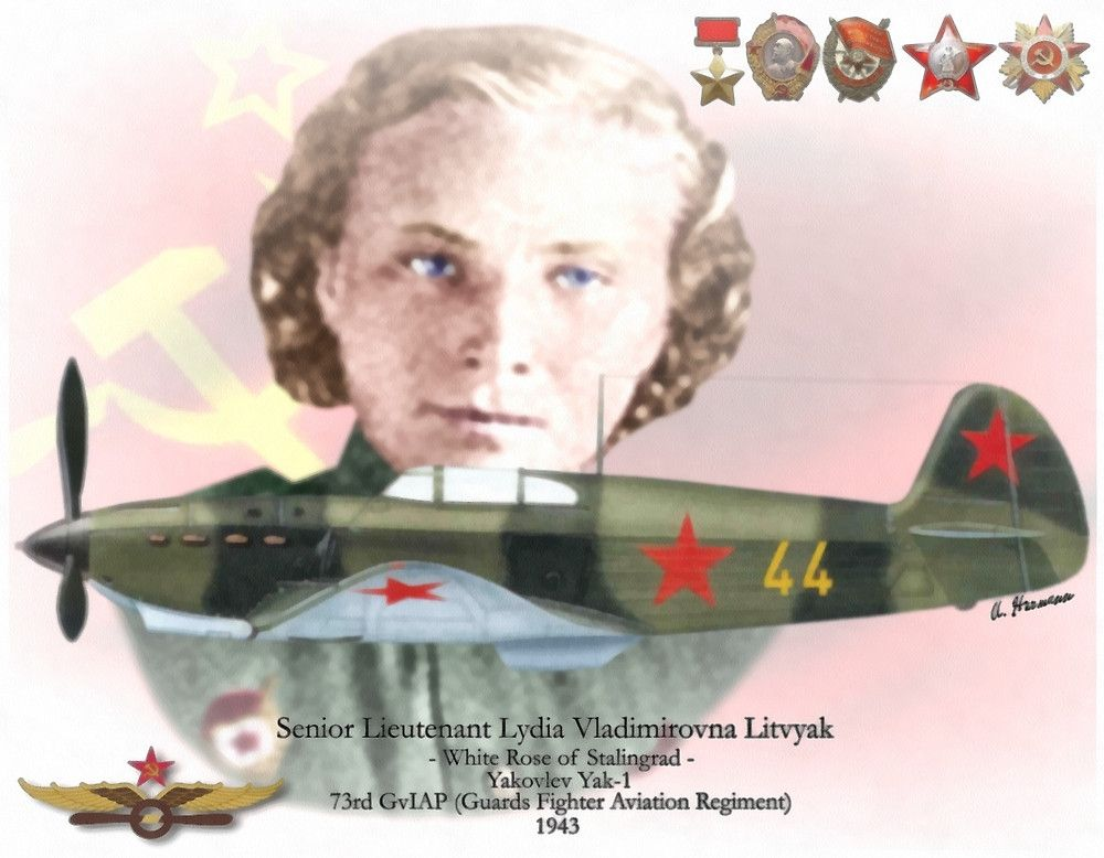 Lieutenant Lidia Litviak Z28