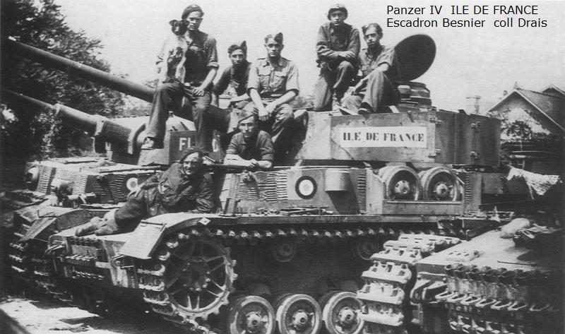 Vehicules recuperes par les FFI -1944 Z355