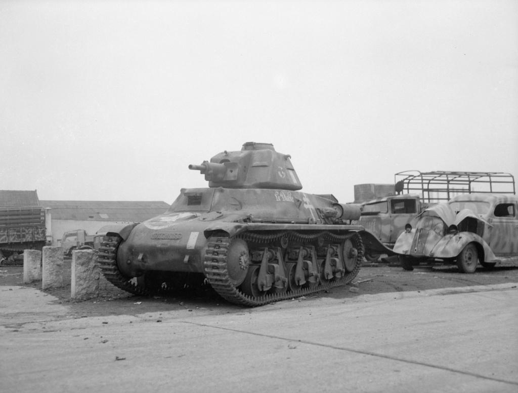 Vehicules recuperes par les FFI -1944 Z356