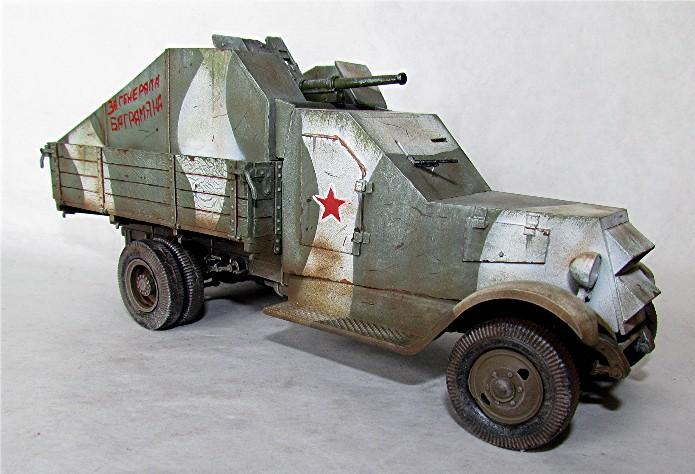 Camion blindé de 3 tonnes ZiS-5 avec canon anti-char de 45mm Z512