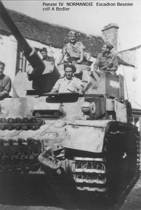 Vehicules recuperes par les FFI -1944 Z523