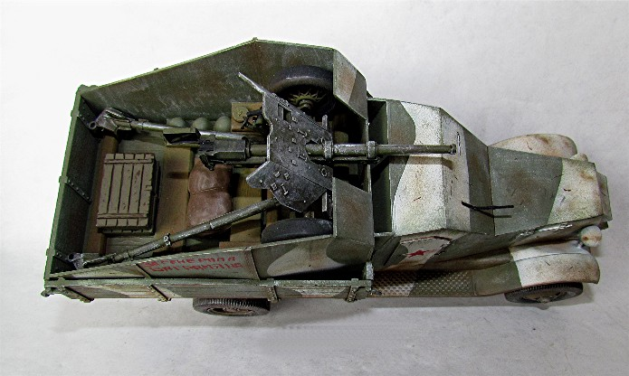 Camion blindé de 3 tonnes ZiS-5 avec canon anti-char de 45mm Z71
