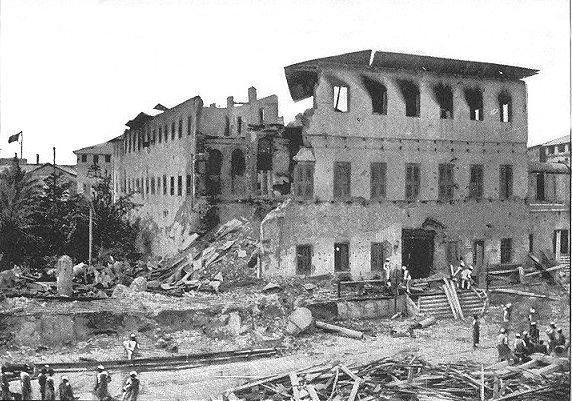 La guerre la plus courte de l'Histoire Zanzib10