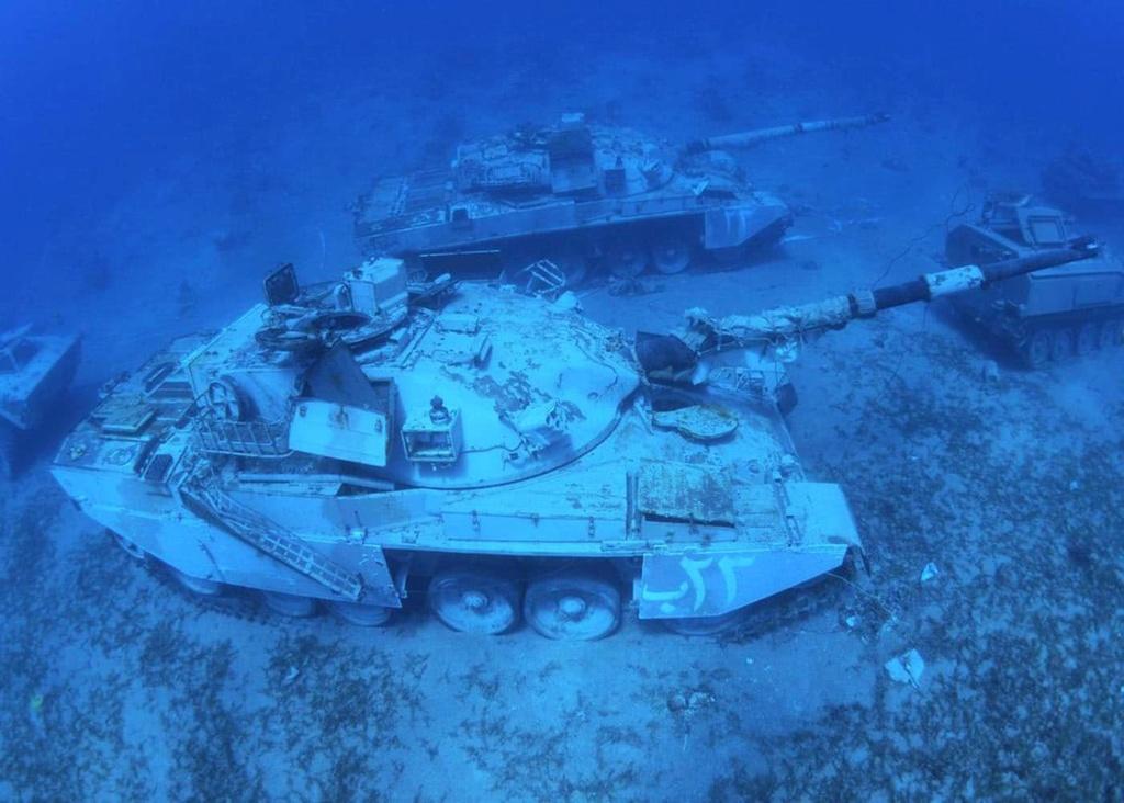 Un musée militaire sous-marin en mer Rouge Zaqaba10