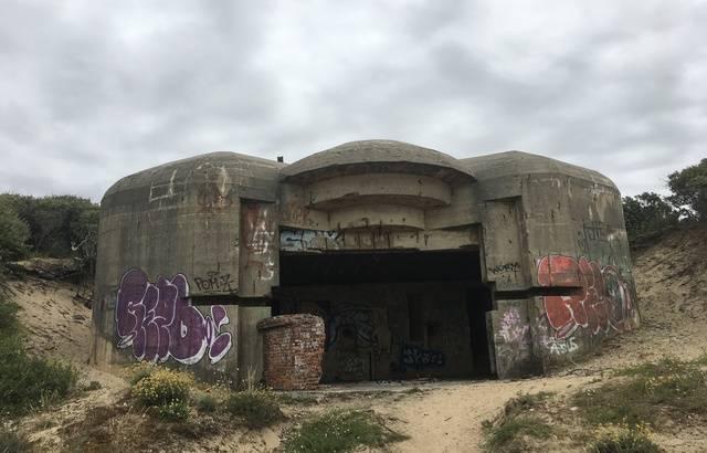 26 bunkers à Soulac-sur-Mer, desensables Zbunke10
