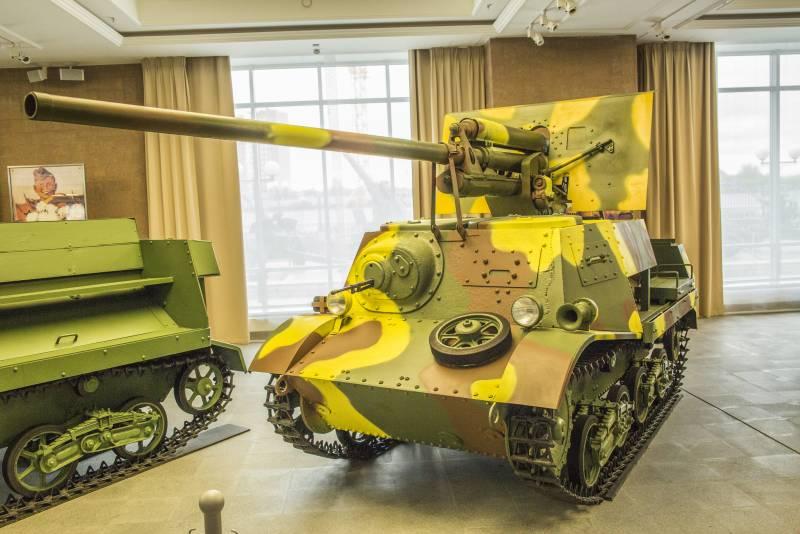 Canon fixe sur chassis de char - Page 2 Zis-3012