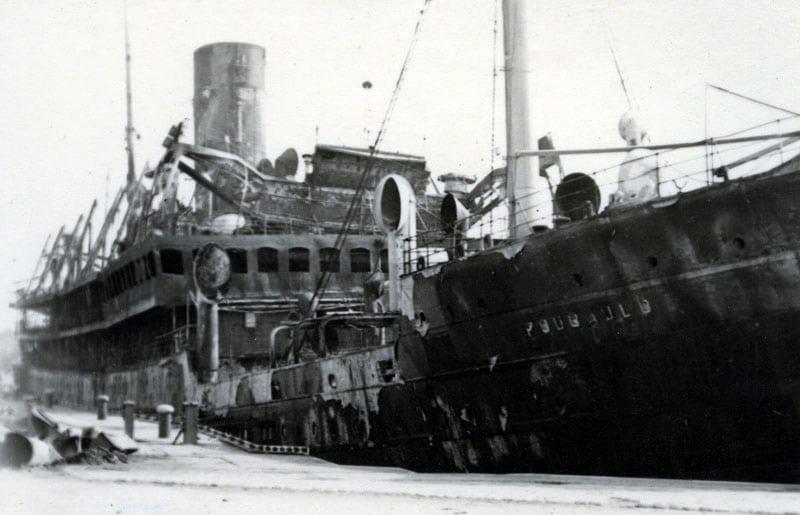 20 juin 1940, le paquebot Foucauld bombarde Zzc15