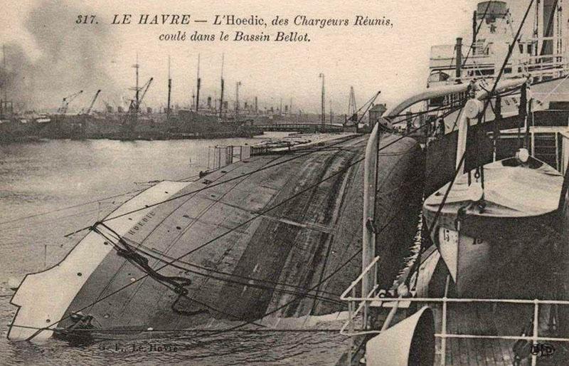 20 juin 1940, le paquebot Foucauld bombarde Zzx23
