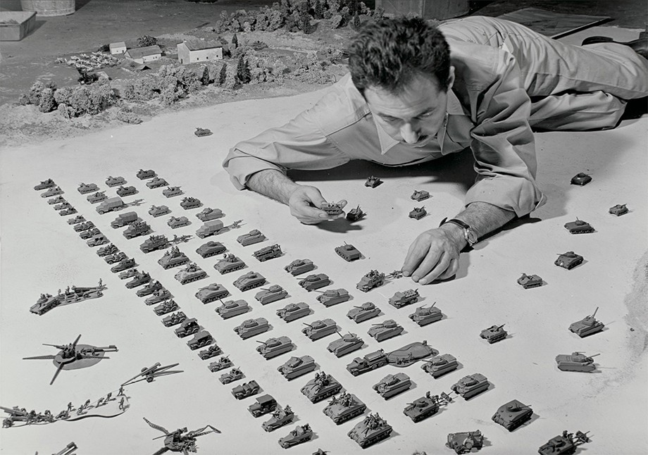 Dioramas grandes échelles de Norman Bel Geddes Zzz132