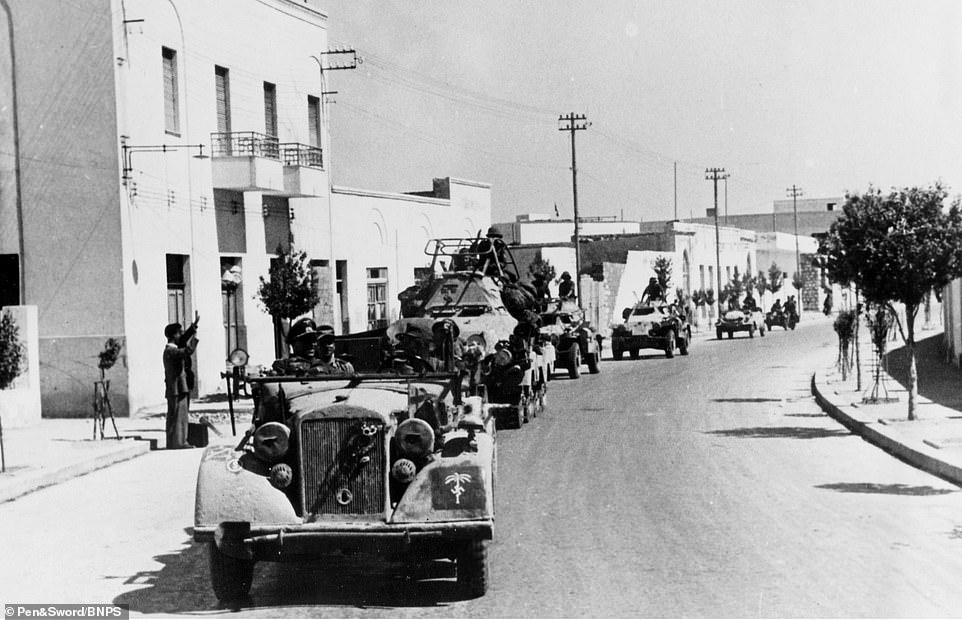 Les vehicules de Commandement de Rommel Zzzzz589