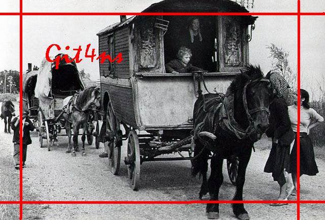 Caravane des Gitans