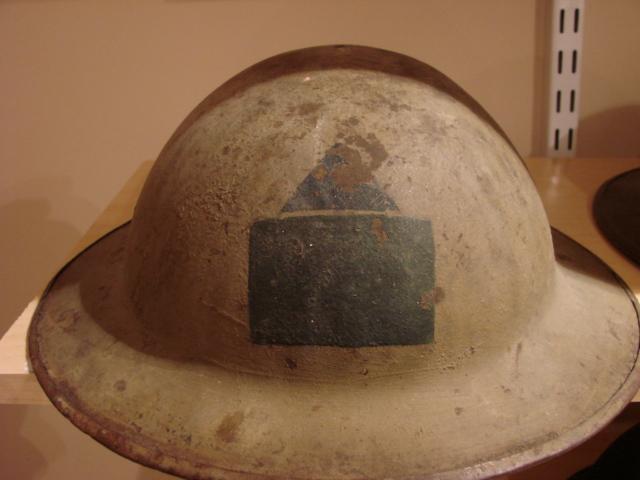 WW1 Canadian Medic Helmet - 78 Bn Brod_010