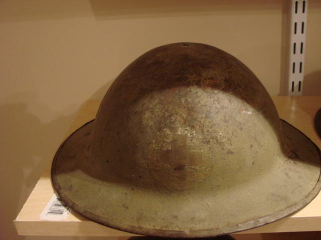 WW1 Canadian Medic Helmet - 78 Bn Brod_011