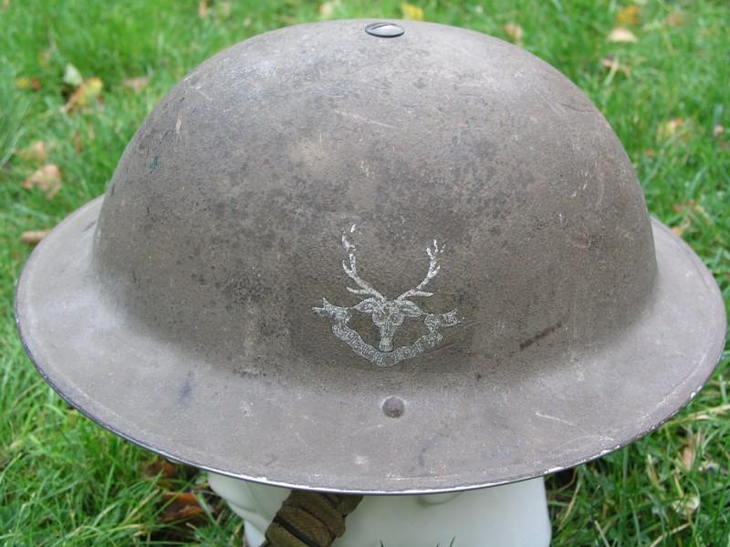 WW II Canadian Helmets 12358a10