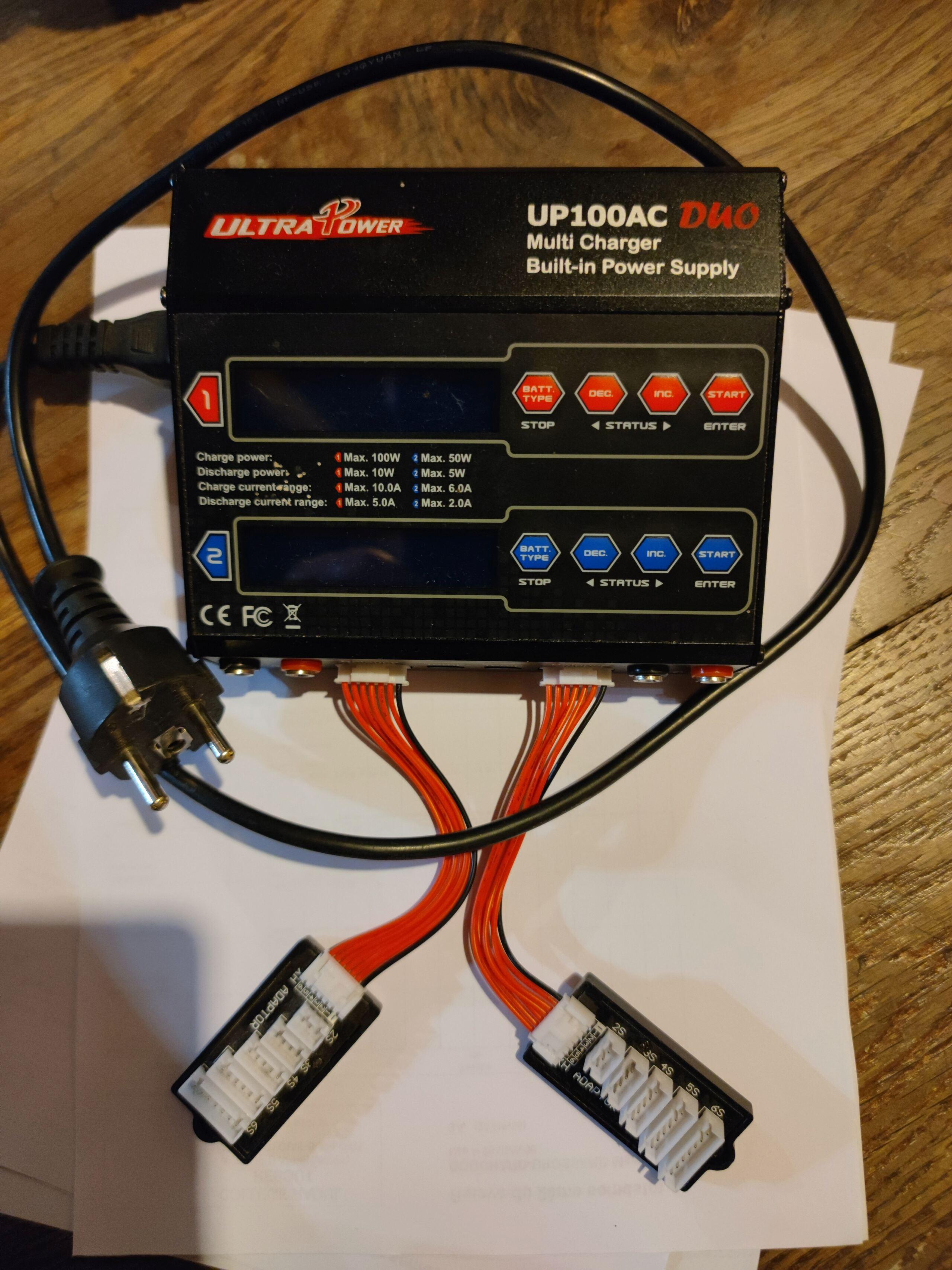 [VENDU] Chargeur double sorties UltraPower 100AC Duo. 16206812