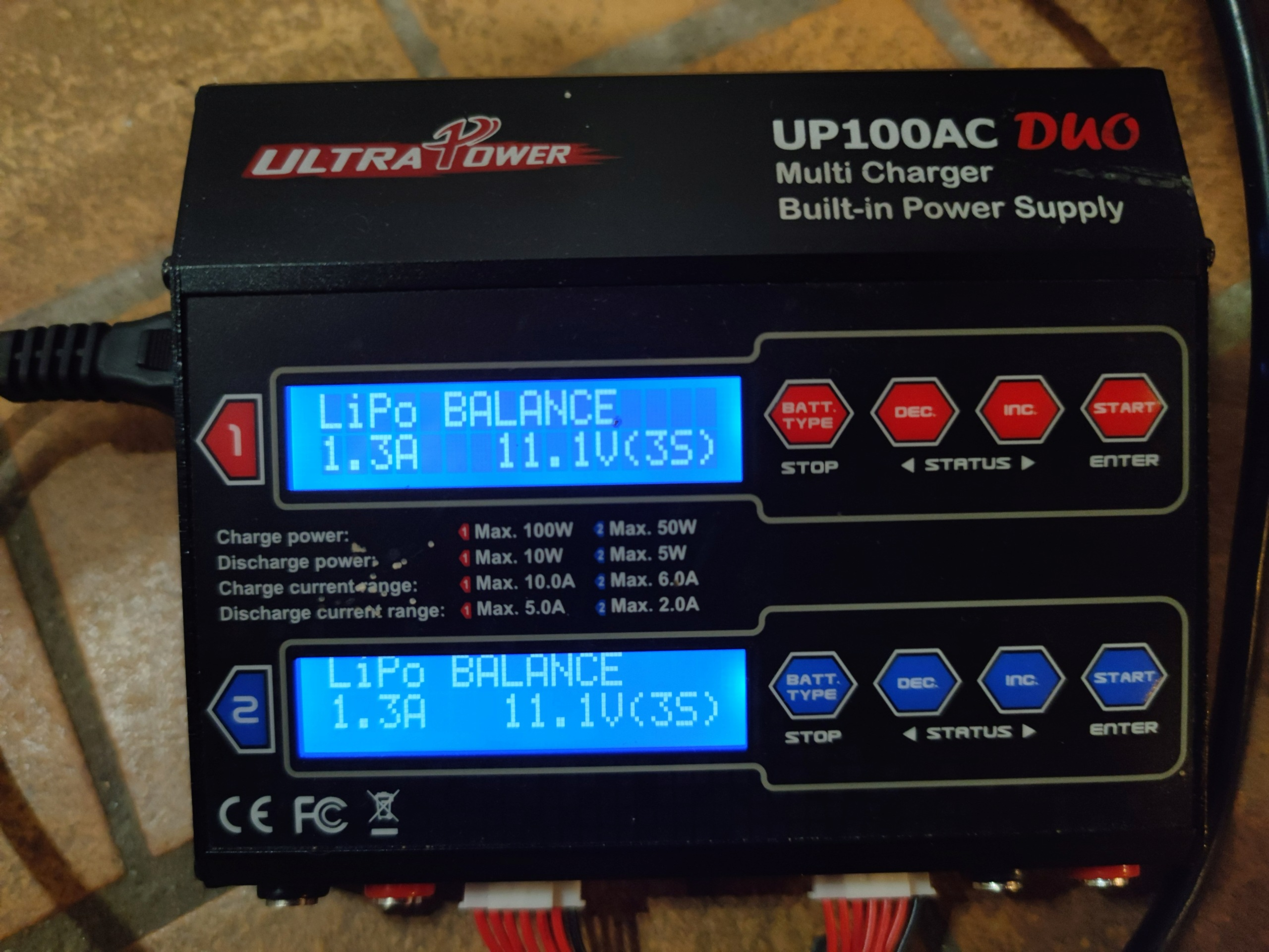 [VENDU] Chargeur double sorties UltraPower 100AC Duo. 16206813