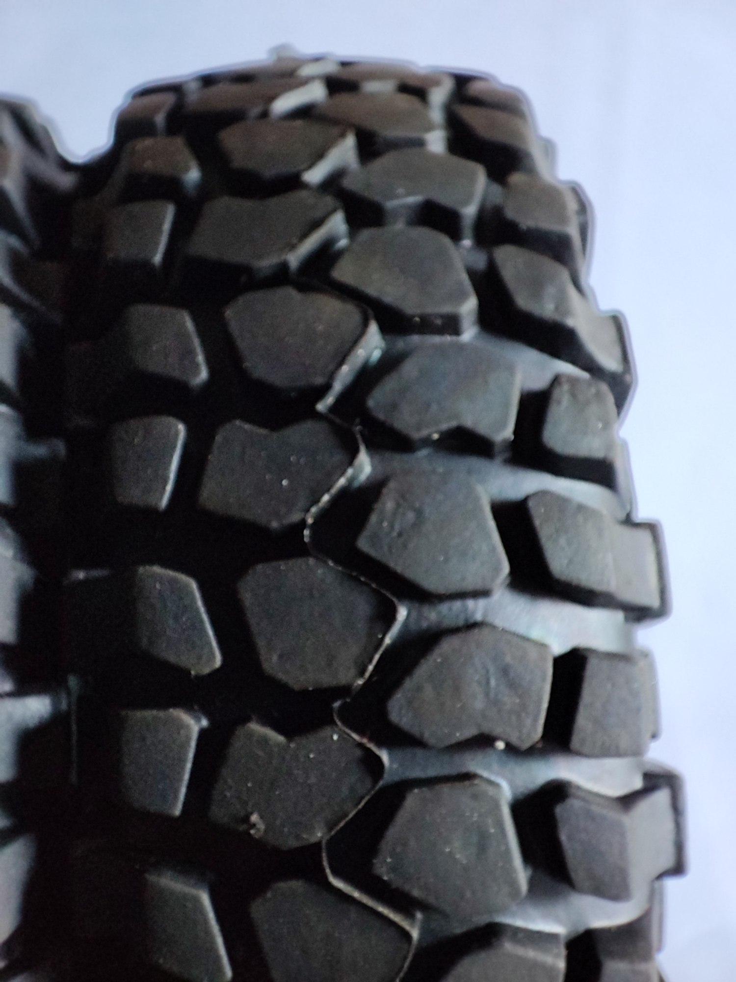 """[VENDS] 4 roues complètes RC4WD en 1,55"""" (Scale/crawler) 16265411"""